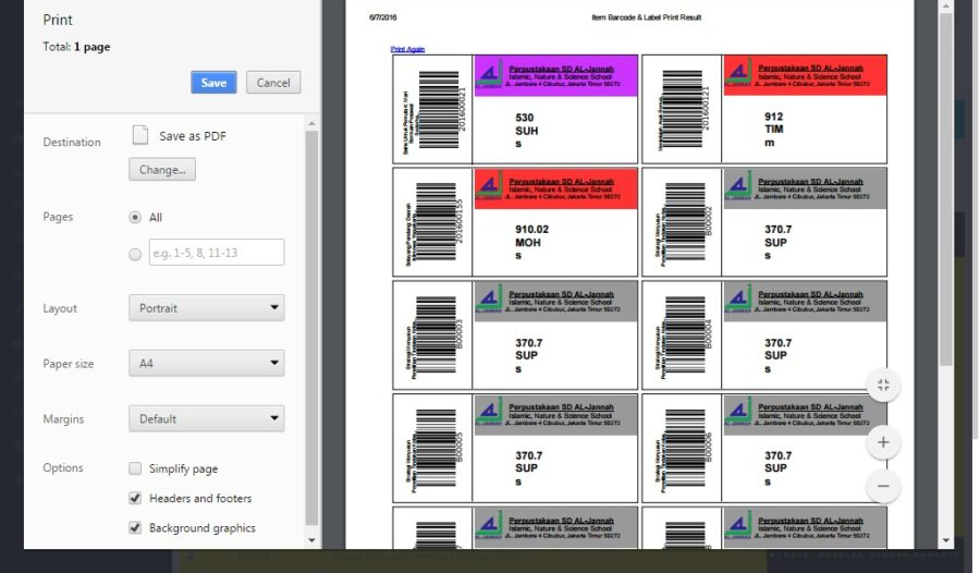 Plugin Label Barcode LOGO Warna [Erwan Setyo Budi]