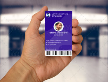 Portrait Member Card